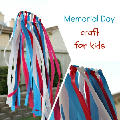 Crafting With Kids Memorial Day Multiples And More