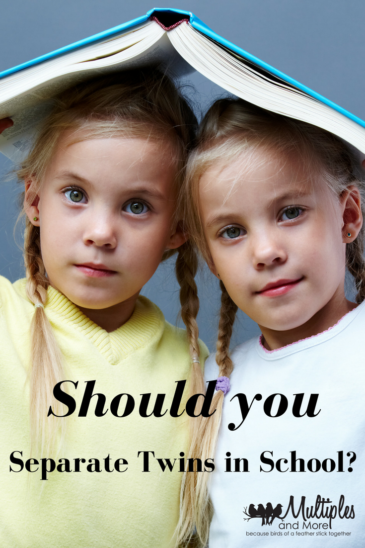 Should you separate twins at school?
