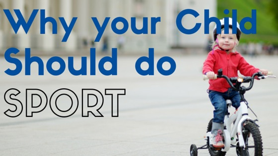Why your child should do sport