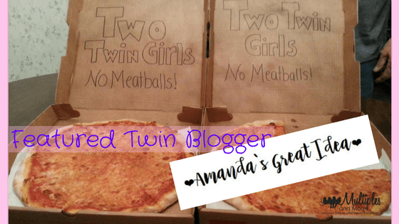 Featured Twin Blogger – Amanda's Great Idea!