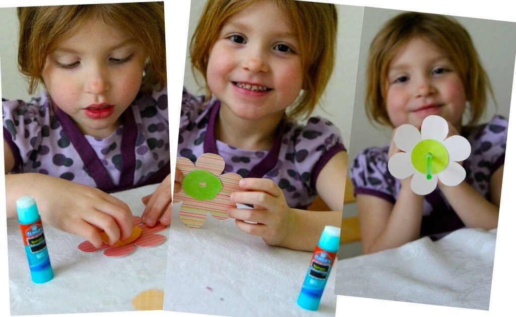 Flower Collage - Crafting with Kids