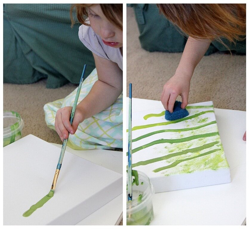 Preschool Artwork - Crafting with Kids
