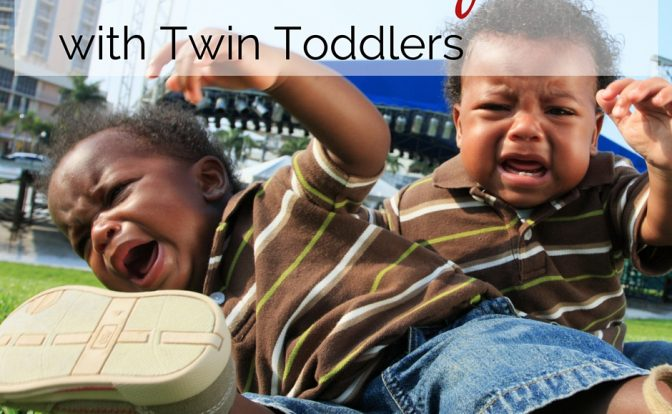 Venturing out with twin toddlers