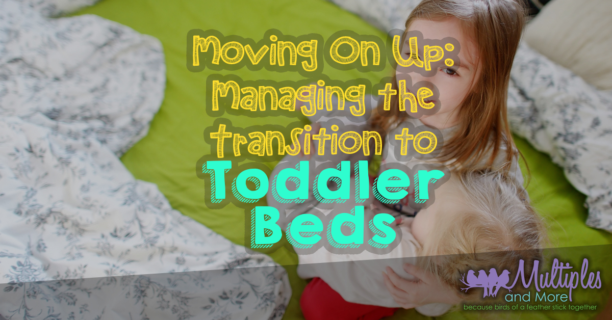Moving on Up: Managing the transition to Toddler Beds