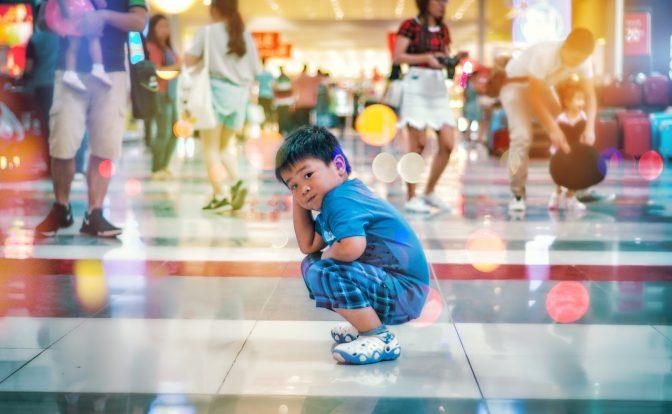 Kid Shopping mall