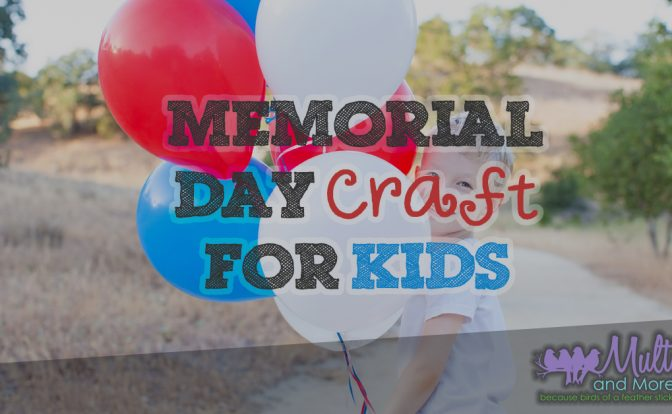 Memorial Daft Craft for Kids