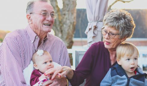 Grandparents Babysitting