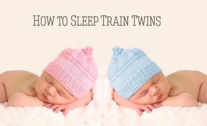 How to Sleep Train Twins