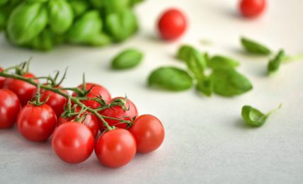 Tomatoes and Spinach