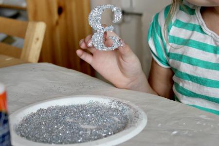 new year headband craft for kids - step 3