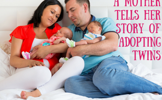 Adopting Twins a Mother Story of Adoption