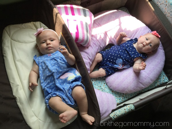 How to set up Play Areas for Twins at 0-6 Months