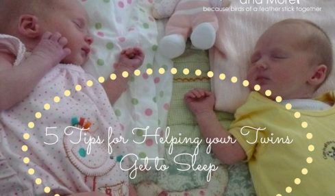 5 Tips for Helping your Twins Get to Sleep