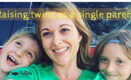 raising twins as a single parent