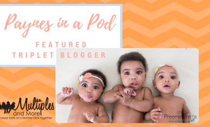 Featured Triplet Blogger
