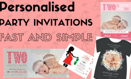 twin birthday cards personalise