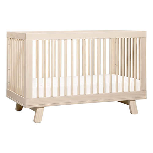 Babyletto Hudson 4-in-1 Convertible Crib with Toddler Bed Conversion Kit