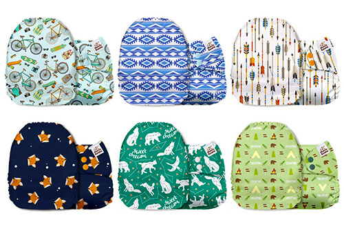 Mama Koala Reusable Pocket - Cloth Diapers