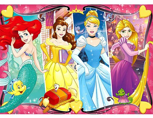Ravensburger - Disney Princess Heartsong 60 Piece