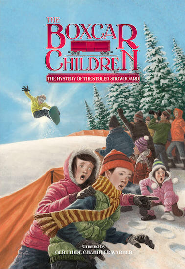 The Boxcar Children - The Mystery of The Stolen Snowboard