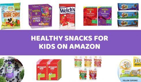 Best Healthy Snacks on Amazon