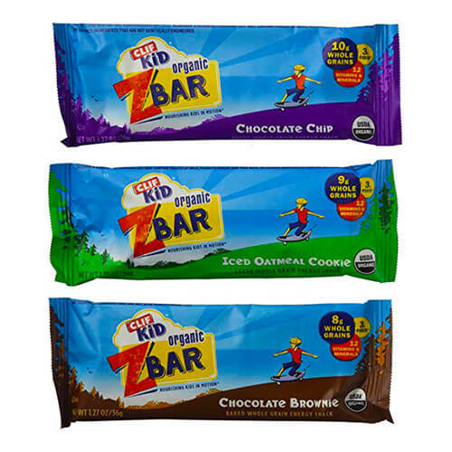 Clif kid organic zbar baked while grain energy snack