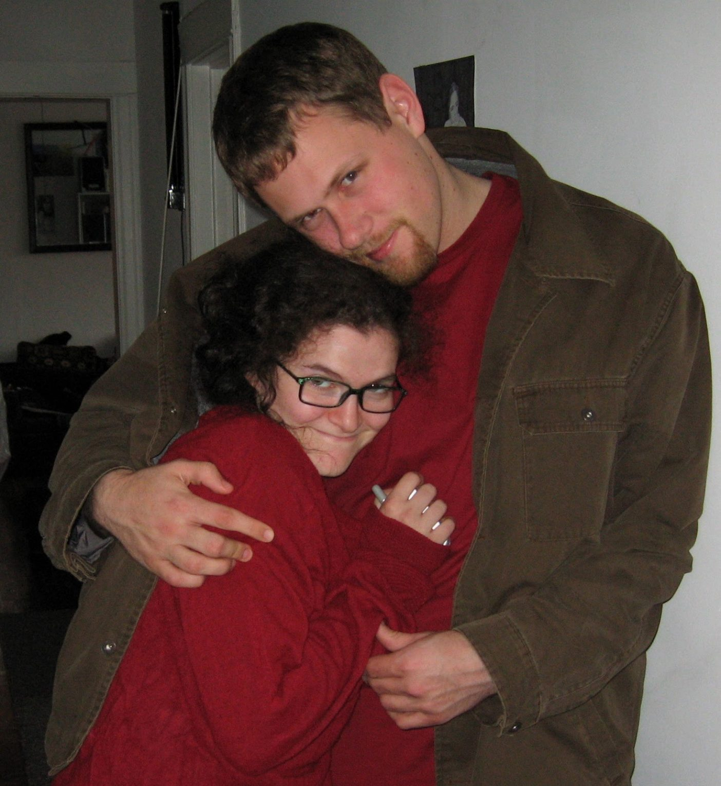 Me and M in 2006