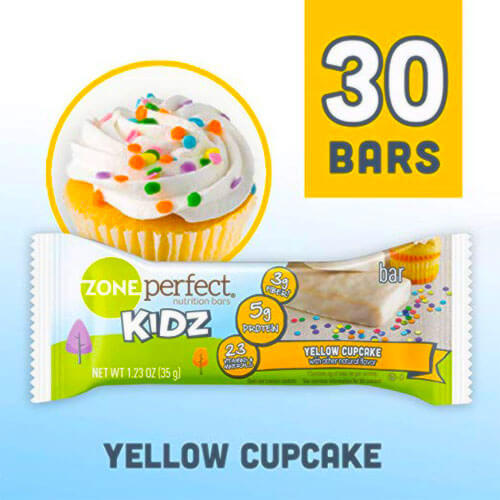 Zone perfect kidz nutrition bars